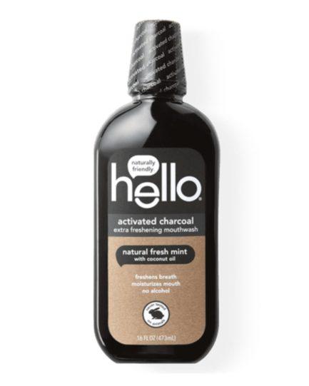 Hello - Activated Charcoal Extra Freshening Mouthwash