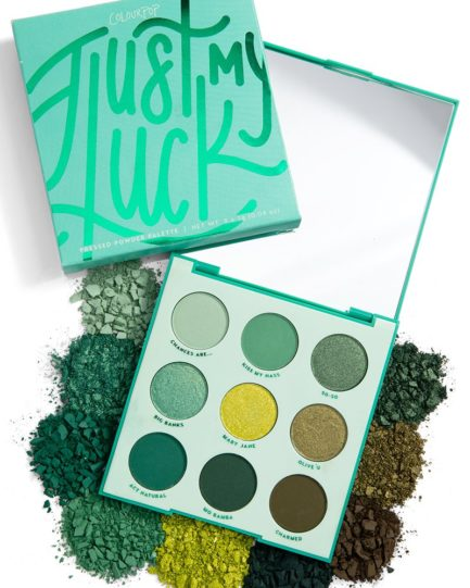 ColourPop - Just My Luck Pressed Powder Shadow Palette